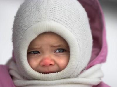 Признаки обморожения у детей и оказание первой помощи